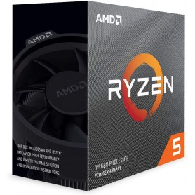 CPU AMD RYZEN 5 3600 4.2Ghz 6 CORE Virtualizzati 12 36MB  CACHE AM4 65W BOX WRAITH STEALTH COOLER - GARANZIA 3 ANNI