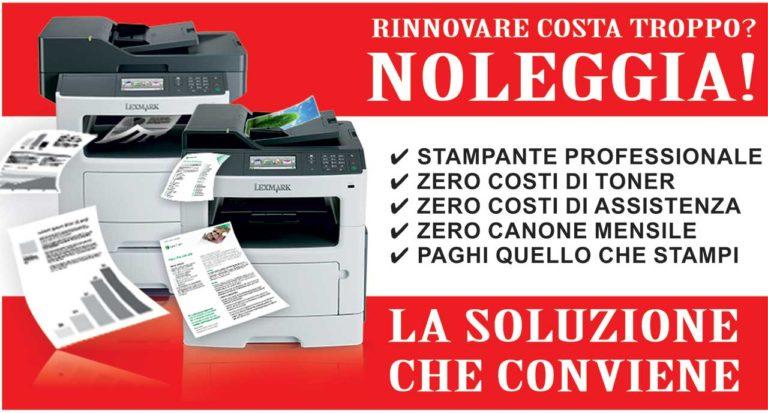 Noleggio stampanti xerox